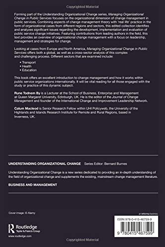 Complexity, Organizations and Change (Routledge Studies on Complexity in Management)