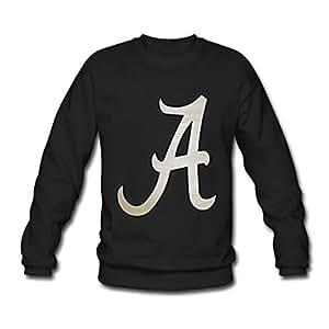 Hoomin Fashion Letter A Design Classic Long Sleeve Sweatshirt(mens)