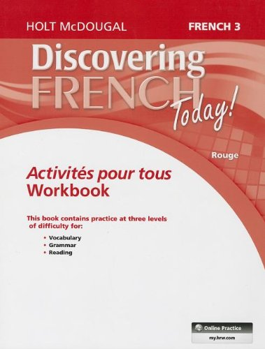 - Discovering French Today: Activités pour tous Level 3 (French Edition)