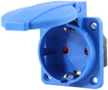 Electro dh 36.091//N Base de enchufe empotrable