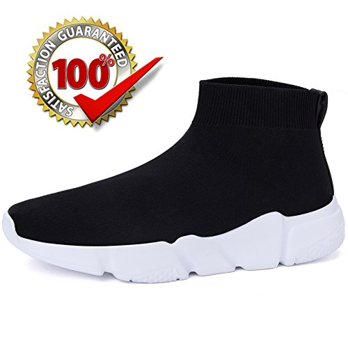 Women's Fashion Sports Running Shoes (Black) - 3