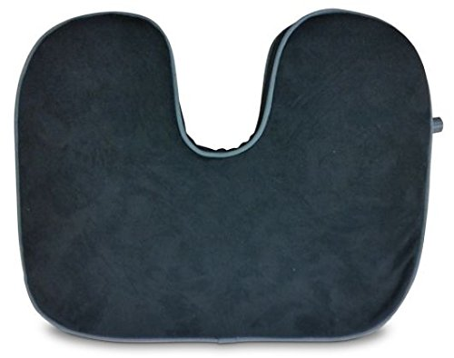 Travel Pal Auto-Inflating Seat Wedge (BLACK) (Wedge Healthy Back)