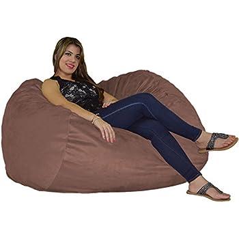 Amazon Com Fugu Bean Bag Chair Foam Filled Double