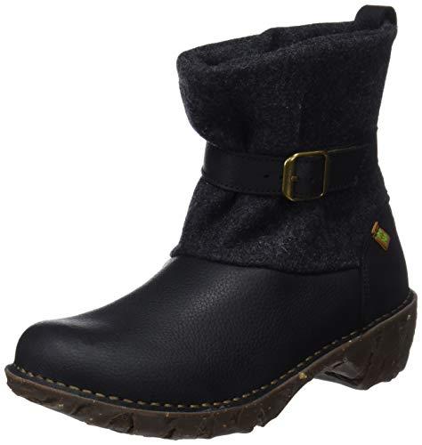 El premium Ng56 Wool yggdrasil Femme Bottes Black black Black Soft Naturalista Grain Noir Classiques FrI5rq