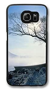Beautiful rime Custom Samsung Galaxy S6/Samsung S6 Case Cover Polycarbonate Black