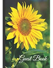 Guest Book: Sign-In Log Book For Visitor And Guest | Perfect For Vacation Rental Home, Lake House, Cabin, Holiday Cottage, Airbnb, Bed & Breakfast