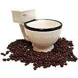 Toilet Shaped Mug, Novelty Gag Gift Mug, Ceramic Mug