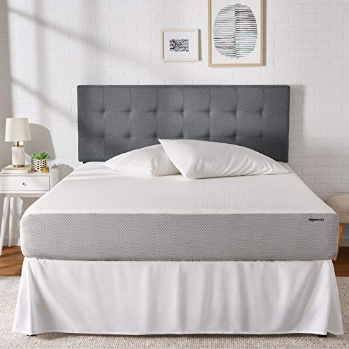 AmazonBasics Memory Foam Mattress - 10-Inch, Queen Size - Soft Bed, Plush Feel, CertiPUR-US Certified, Breathable, Easy Set-Up