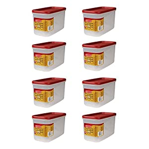 Rubbermaid FG7M7100CHILI 5-Cup Dry Food Container