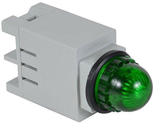 c3controls 13SBLG120ST-13GNR Indicating Light, 13mm, Green Super Bright LED, Round Green Color Lens, 120V AC/DC, Screw Terminal (Indicating Light)