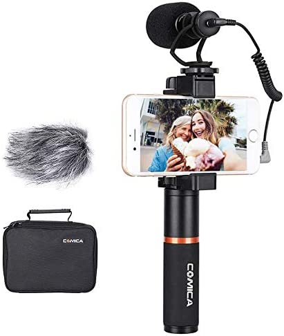 Comica CVM-VM10-K1 Smartphone Video Rig with Video Microphone