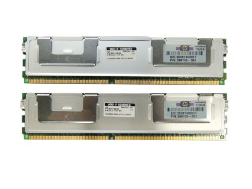注目の HP 2GB PC2-5300 FB-DIMM 2GB DDR2-667メモリ FB-DIMM キット (2x1GB) PC2-5300 PN:398706-051 B00SXO4EO8, 雑貨屋 PLUS:6d5d7571 --- arbimovel.dominiotemporario.com