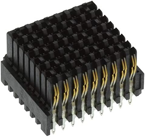 8 Rows, Pack of 2 MULTIGIG RT 2-R Series 1.8 mm 72 Contacts 2102735-1 Receptacle Connector Press Fit