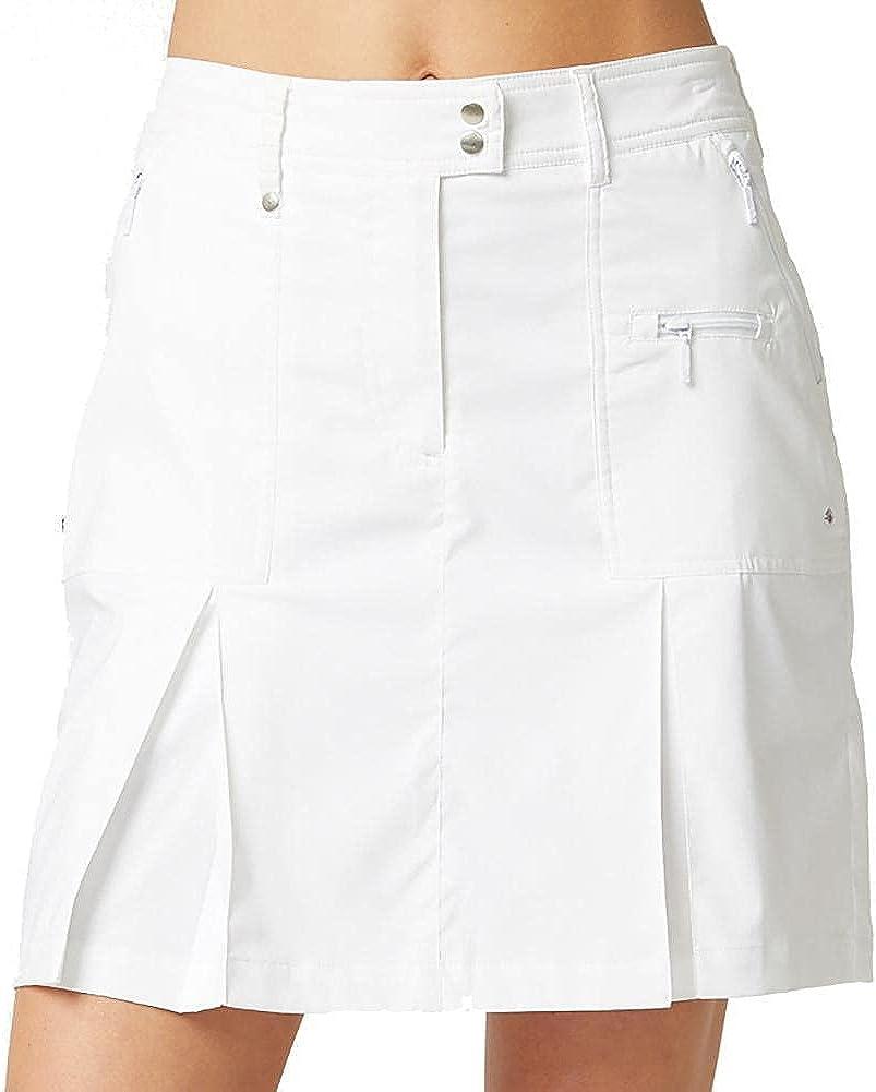 GG Blue Boca Womens Golf Skort White B22 12