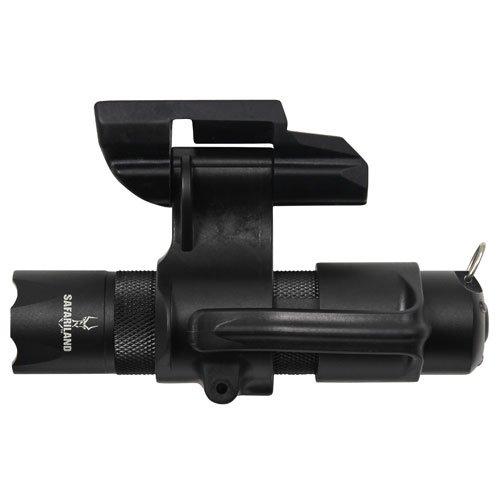 UPC 781607013043, Safariland RLS Weapon Light, RLSM-2 Mount and LED Flashlight, AAA, Kit (Single Pack)