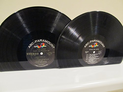 vinyl-record-bookends-lp-eydie-gorme-eydie-in-love-vamps-the-roaring-20s-on-abc-paramount-records
