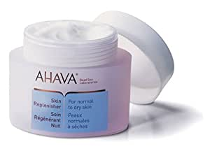 AHAVA Night Skin Replenisher For Normal to Dry Skin, 1.7 oz.
