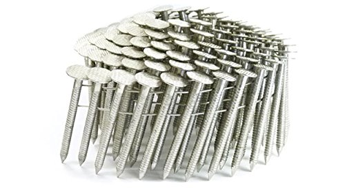 1 3/4'' Ring 304 Stainless Coil Roofing Nails 1.2M RoofPak