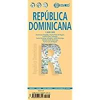 Dominikanische Republik: 1:600 000. Einzelkarten: República Dominicana 1:600 000, Puerto Plata & Region 1:250 000, Puerto Plata 1:20 000, Santiago ... administrative / time zones (Borch Maps)