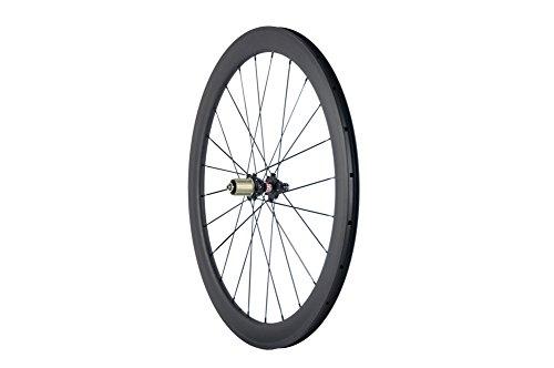 Superteam Carbon Fiber Clincher Road Bike Wheelset 700C25 Matt Finish 1 Pair by Queen Bike (Image #3)