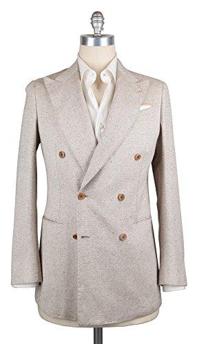 Luigi Borrelli New Cream Sportcoat (Silk Cream Blazer)