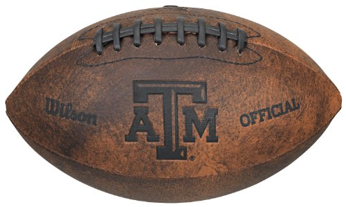 UPC 883813712410, NCAA Texas A&M Aggies Wilson 9-Inch Throwback Football