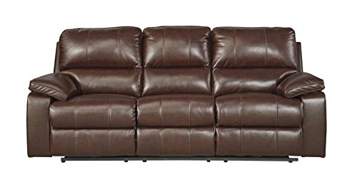 Ashley 5130215 Power Reclining Sofa, Coffee ()