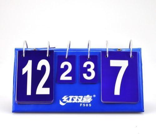 Ping Pong Scorekeeper elegantstunning Tragbar Flip Tisch Tennis Anzeigetafel