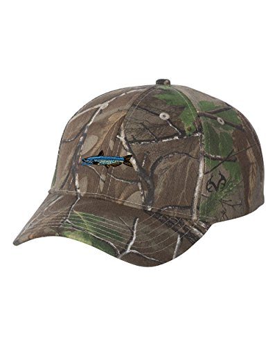Channel Catfish FISH Custom Personalized Embroidery Embroidered Camouflage Hat