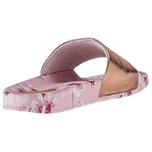Ted Baker aveline, Sandalias de Punta Descubierta Para Mujer rosa (pink floral)