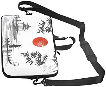Japan Traditional Japanese Painting Sumie Art Pattern Neoprene Sleeve Pouch Case Bag for 11.6 Inch Laptop Computer Any Laptop//Notebook//ultrabook//MacBook with Display Size 11.6 Inches