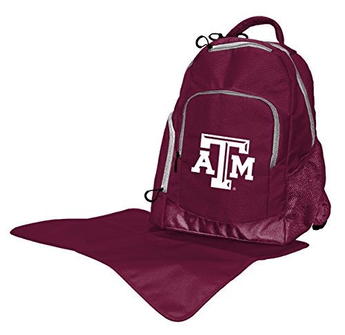 - Lil Fan Collegiate Diaper Backpack Collection, Texas A and M Aggies