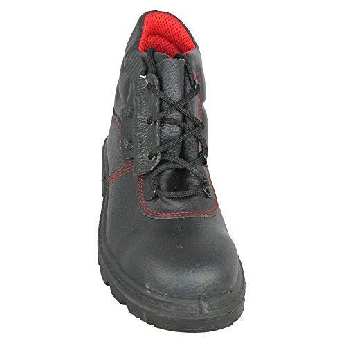 Almar - Calzado de protección de Piel para hombre, color Negro, talla 41