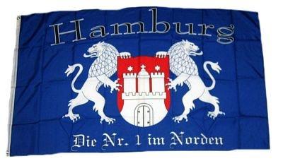 Fahne / Flagge Fußball Hamburg NEU 90 x 150 cm Flaggen