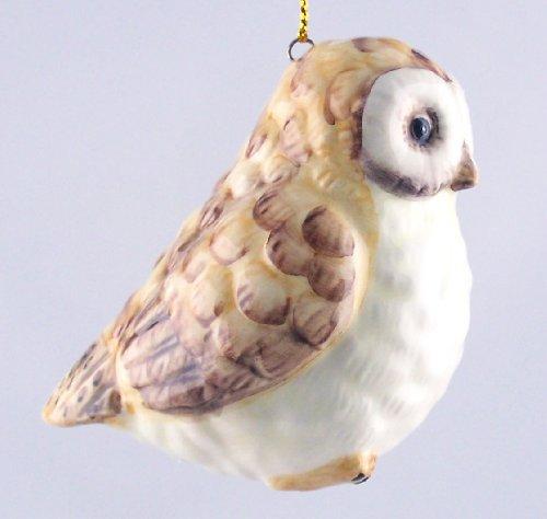 Chintz Salt (Woodsy Owl - Fine Porcelain Christmas Ornament)
