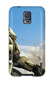 New Tpu Hard Case Premium Galaxy S5 Skin Case Cover(halo Wars New Game)