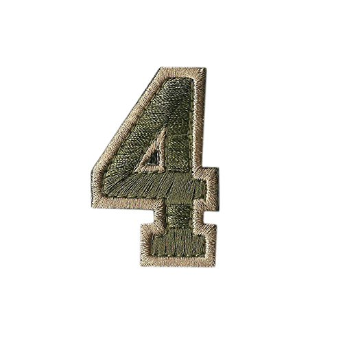Tactical Numbers Patches - Multitan - - 4 Shop Number