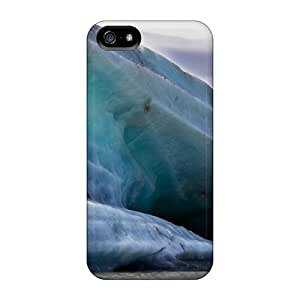 First-class Case Cover For Iphone 5/5s Dual Protection Cover Tasman Glacier Mountain Glacier New Zealand Scenery
