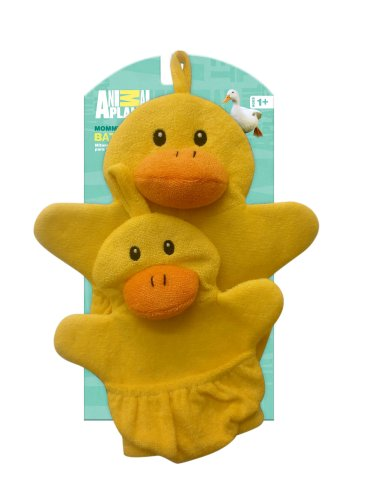 Animal Planet Mommy and Baby Wash Mitts, Duck (Discontinued by Manufacturer)