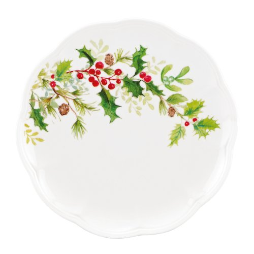 - Lenox Winter Meadow Holly Accent Plate