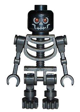 Black Lego Skeleton (LEGO Skeleton (Black) Castle)
