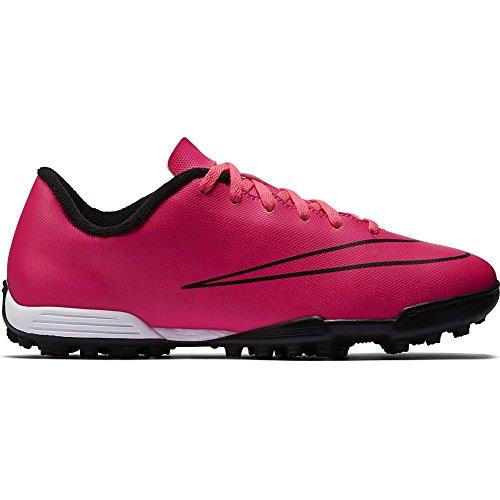 Nike Mercurial Vortex Ii, Botas de Fútbol Niños Rosa (Rosa/(Hyper Pink/Hyper Pink/Blk/Blk) 000)