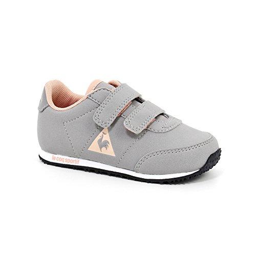 Le Coq Sportif , Mädchen Sneaker grau TITANIUM / ROSE CLOUD