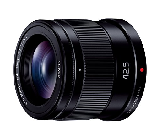 Panasonic replacement lens LUMIX G 42.5mm F1.7 ASPH. POWER OIS H-HS043-K - International Version (No Warranty)