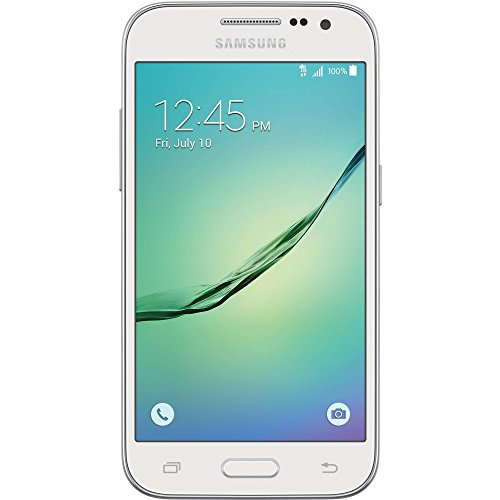 Galaxy Core Prime G360t Metropcs Prepaid 4G Lte Smartphone  White  Certified Refurbished