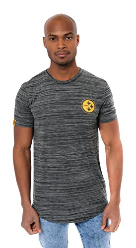 (ICER Brands Men's T Active Basic Space Dye Tee Shirt, Team Color, Bls, X-Large)