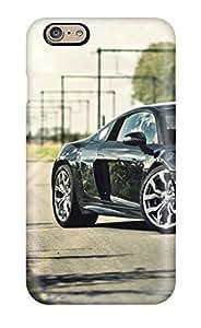 Hot Design Premium ChgcBvG1542fKXDA Tpu Case Cover Iphone 6 Protection Case(audi R8 Black Roads R V Reflections Railway Cars Audi)