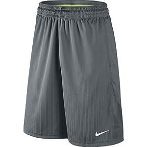 NIKE Men's Layup 2 Shorts, Cool Grey/Cool Grey/Cool Grey/White, Large Tall