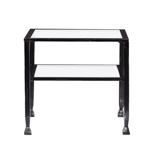Southern Enterprises Crandall Square Bunching Outdoor Cocktail Table