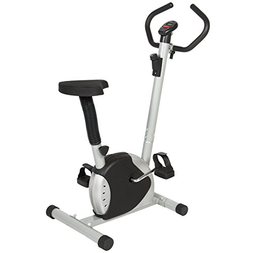 Best Choice Products Adjustable Exercise Bicycle Machine w/Resistance Adjustment - Black/Silver by Best Choice Products